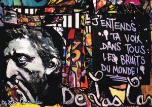 Card Free N°1. Cécile De Las Candelas painter.