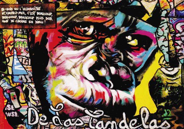 Carte King Kong N°1, Cécile De Las Candelas artiste peintre