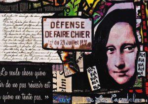 Card l'Art de l'autre N°2. Cécile De Las Candelas painter.
