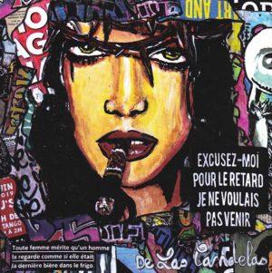 Card Ainsi soient-elles N°1. Cécile De Las Candelas painter.