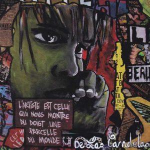 Card Luna N°1. Cécile De Las Candelas painter.