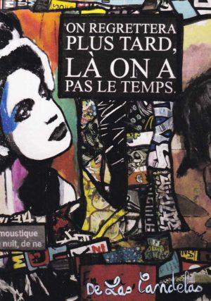Card Zone de confort N°4. Cécile De Las Candelas painter.