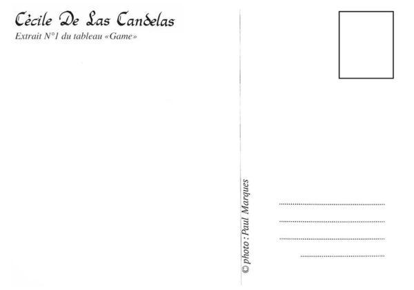 Carte Game N°1, Cécile De Las Candelas artiste peintre
