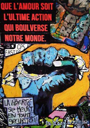 Carte Warning N°4, Cécile De Las Candelas artiste peintre