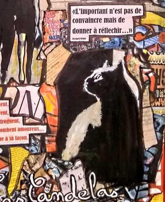 Tableau CENDRILLON, 60x73 cm, Cécile De Las Candelas artiste peintre