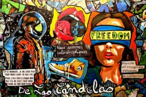 Painting QUOI DE NEUF DOCTEUR ?, 33x22 cm, Cécile De Las Candelas painter